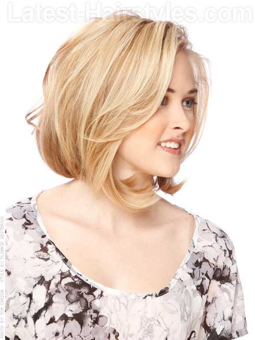 Fine Bob Styles For Round Faces Short Hairstyles 2016 2017 Most Short Hairstyles Gunalazisus