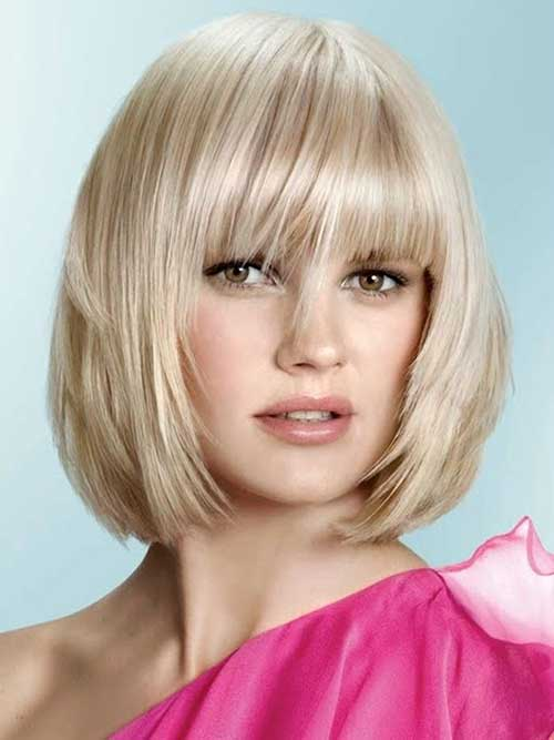 Sensational Bob Cuts For Round Faces Short Hairstyles 2016 2017 Most Short Hairstyles Gunalazisus