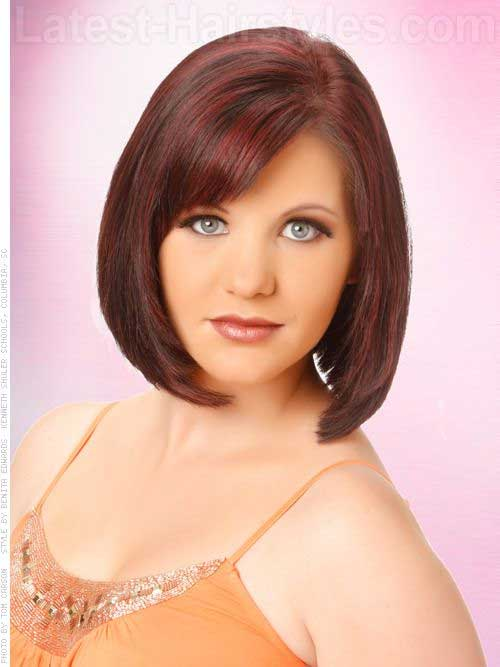 Bob Cuts Round Faces Short Hairstyles