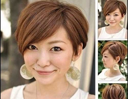 Short Bob Hairstyles For Round Face