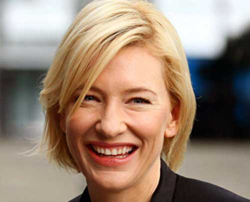 Cate Blanchett Hairstyle for Fine Hair