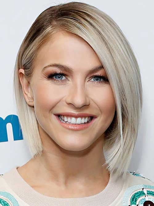 Julianne Hough Bob Hairstyles for Round Face