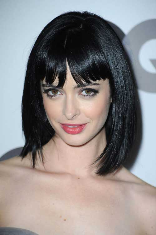 Krysten Ritter Straight Hair