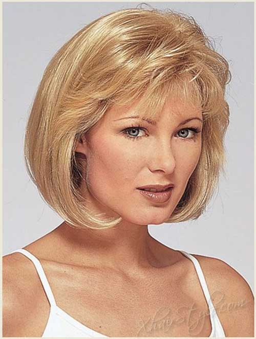 Magnificent Bob Cuts For Round Faces Short Hairstyles 2016 2017 Most Short Hairstyles Gunalazisus