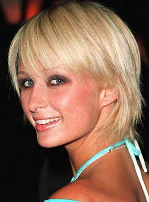 Paris Hilton Short Haircuts for Thin Hair