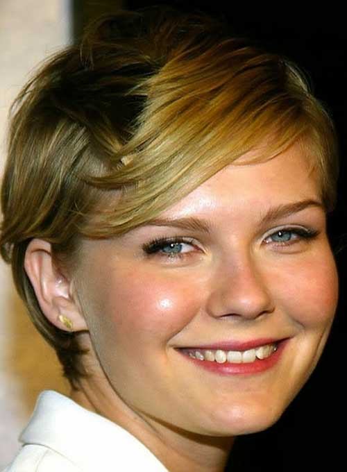 Round Face Straight Hairstyles Fine Hair