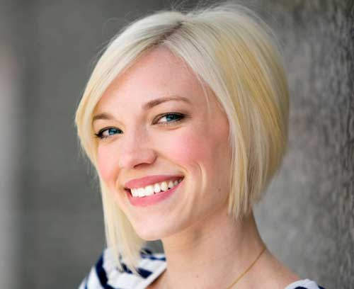 Short Graduated Bob Hairstyles for Fine Hair