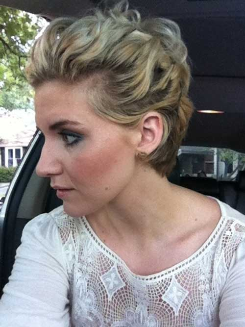 Best Short Hair Updo for Wedding