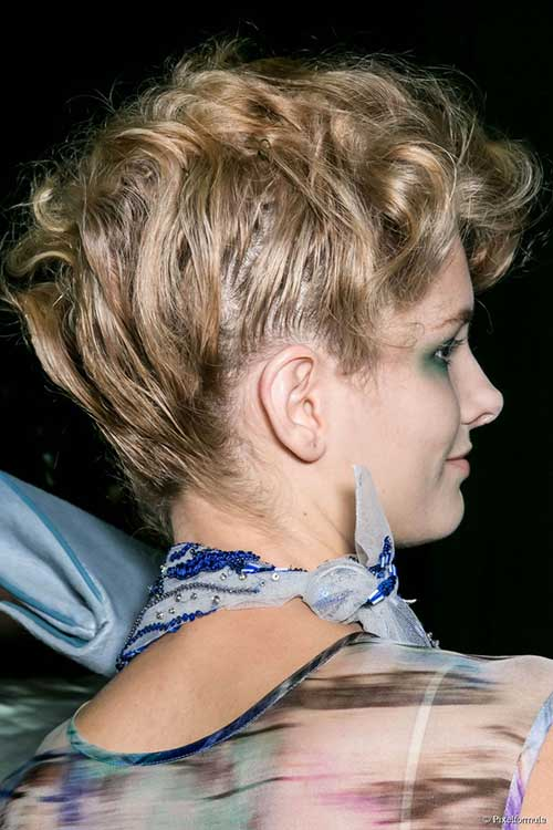 Short Haircuts Easy Updo for Wedding