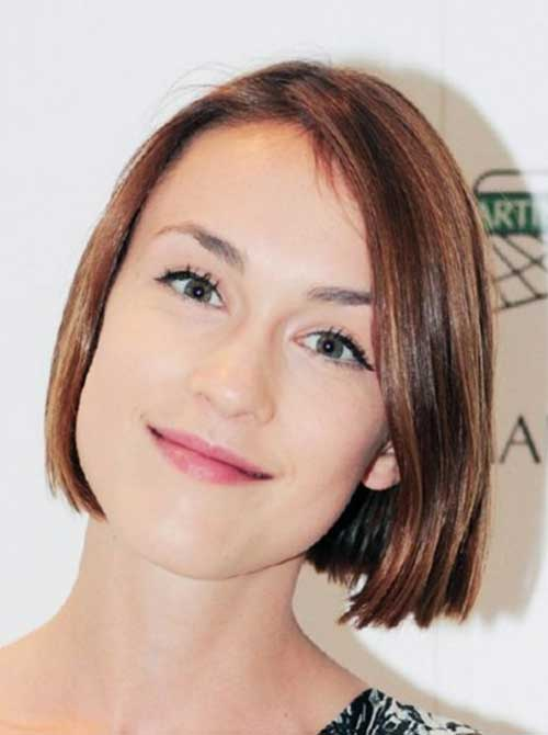 Short Straight Haircuts For Fine Thin Hair