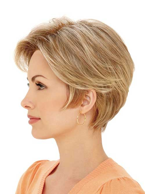 Short Straight Hairstyles Fine Hair
