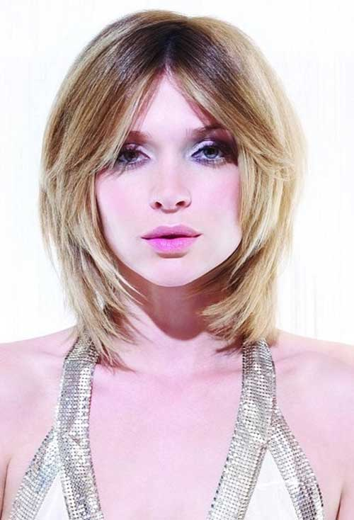 Fabulous Bob Cuts For Round Faces Short Hairstyles 2016 2017 Most Hairstyles For Women Draintrainus