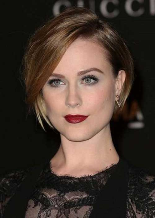 Nice Short Straight Hairstyles With Bangs
