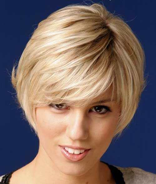 Short Layered Bangs for Straight Hairstyles