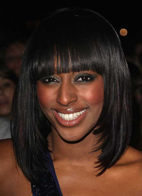 Straight Short Hairstyles Black Women