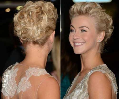Curly Updo Hairstyles For Weddings: 14 Short Hair Updo For Wedding