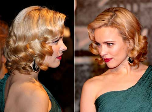 Nice 50s Hairstyles Short Curly Celeb Hair