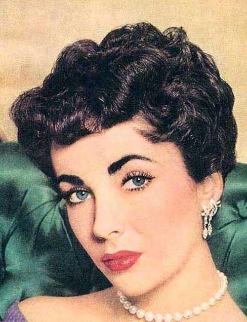 Best 50s Hairstyles Short Curly Dark Hair - 50s Hairstyles For Short Hair Short Hairstyles 2016 - 2017