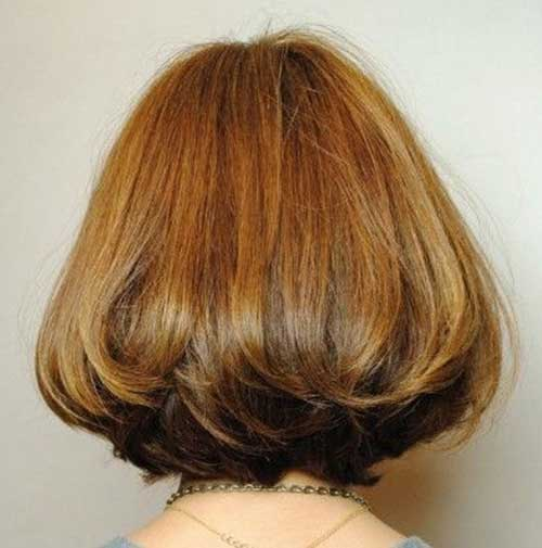 Asian Short Haircuts Back View