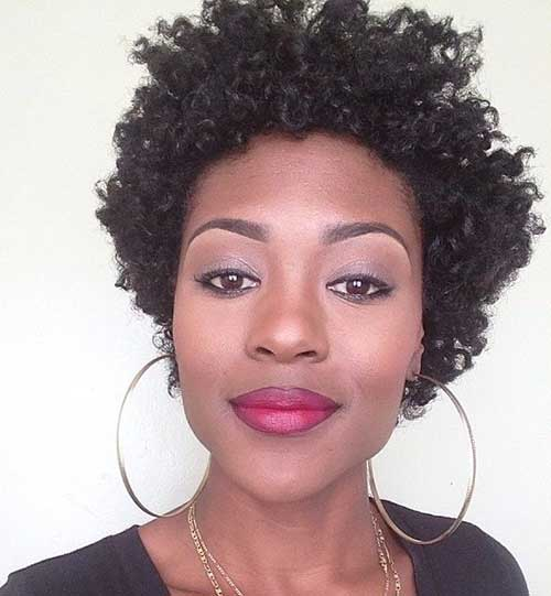 Marvelous 15 Short Curly Afro Hairstyle Short Hairstyles 2016 2017 Hairstyles For Women Draintrainus