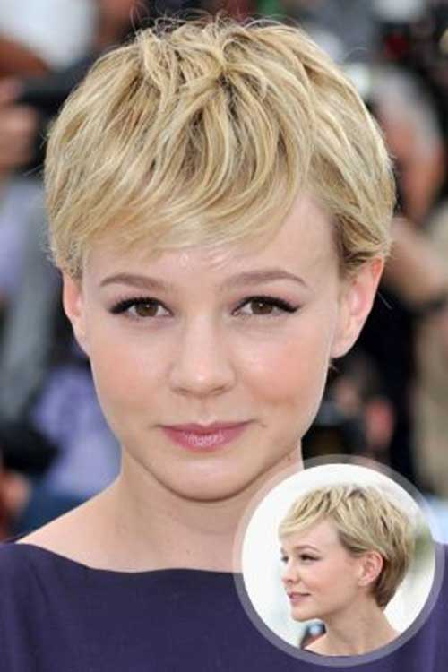 Best Short Blonde Pixie Hair