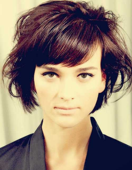 Best Short Blonde Messy Bob Hair