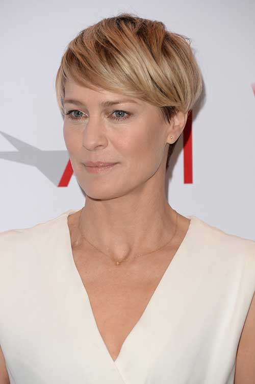 Best Short Hair Cuts with Straight Bangs