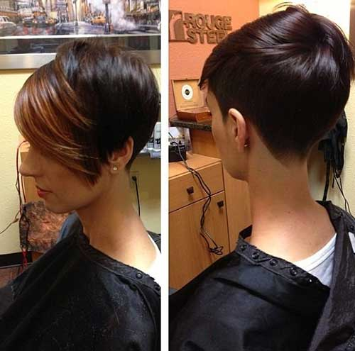 Best Short Pixie Haircuts with Long Bangs