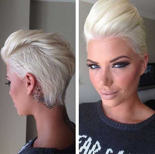 Best Short Platinum Hair Ideas for Ladies