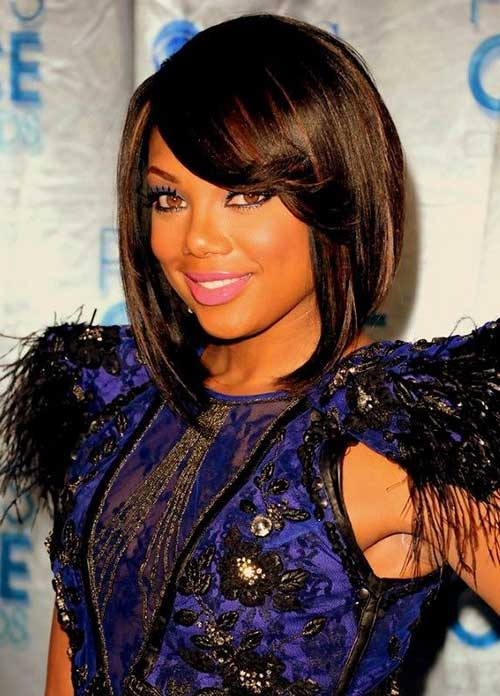 15 New Short Hairstyles With Bangs For Black Women