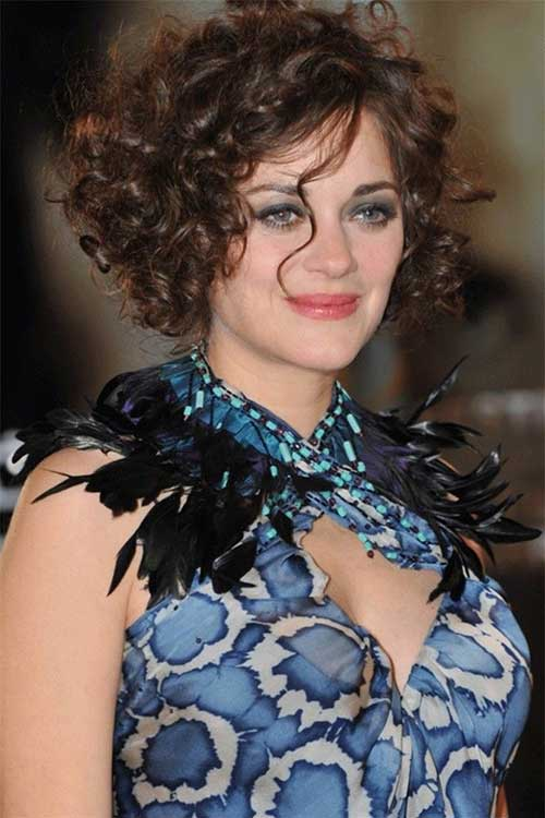 Terrific Short Hairstyles For Curly Frizzy Hair Short Hairstyles 2016 Hairstyles For Women Draintrainus