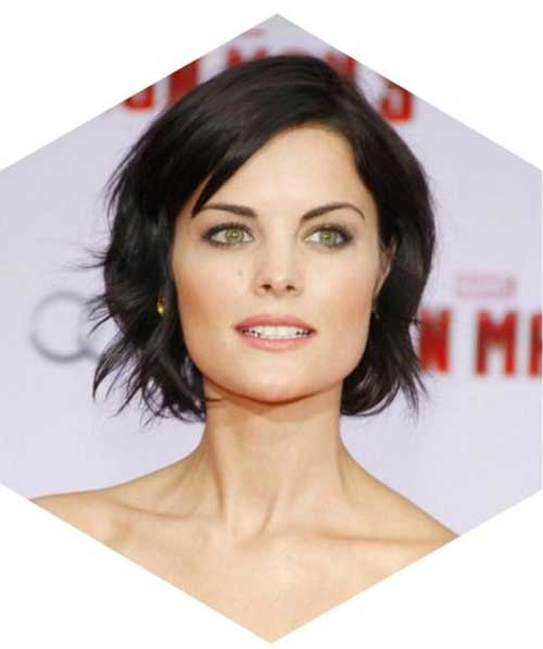 Brunette Casual Bob Hairstyles