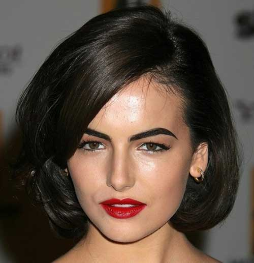 Brunette Classic Bob Hairstyles
