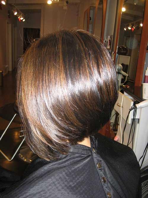 Brunette Straight Bob Hairstyles