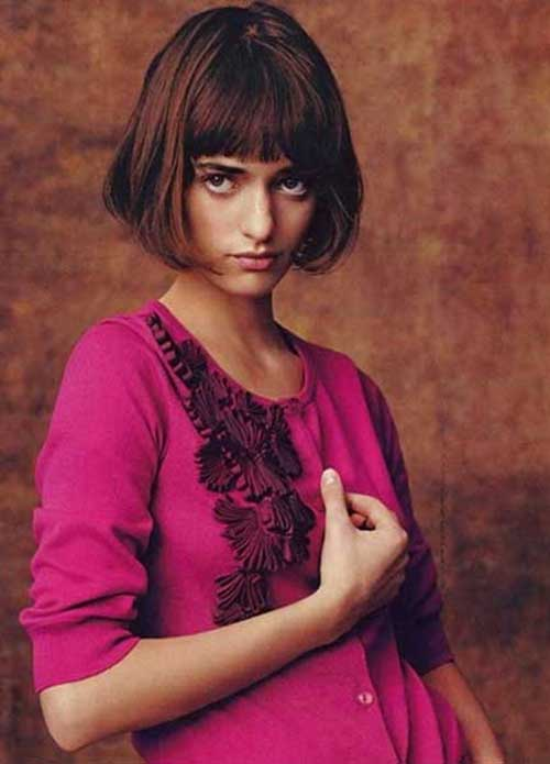 Casual French Bob Hairstyles