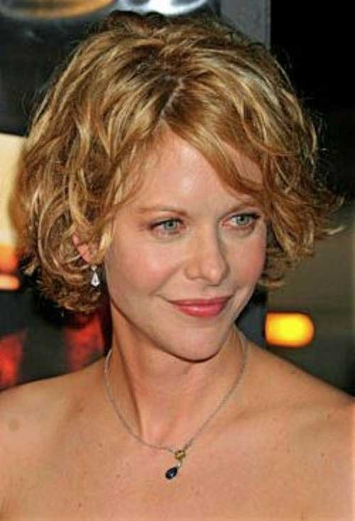 Chic Short Haircuts for Curly Thick Blonde Hairstyle