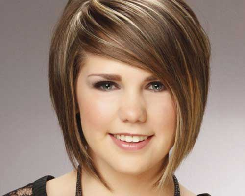 Fantastic Short Haircuts For Chubby Faces Short Hairstyles 2016 2017 Short Hairstyles Gunalazisus