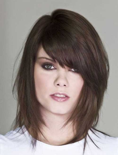 Hairstyles For Chubby Faces short haircuts for fat round faces pertaining to warm hairstyles Chubby Faces With Layered Bob Haircuts