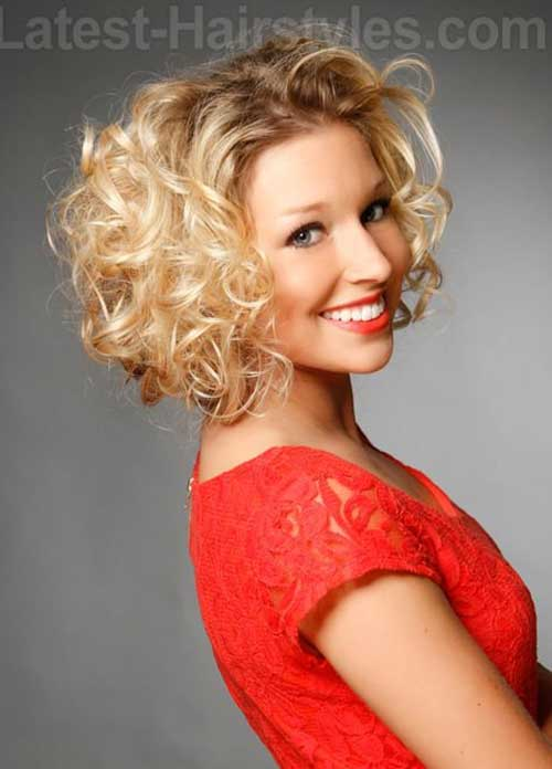 Swell 15 Easy Hairstyles For Short Curly Hair Short Hairstyles 2016 Hairstyle Inspiration Daily Dogsangcom