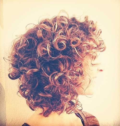 Curly Perms For Short Bob Hair