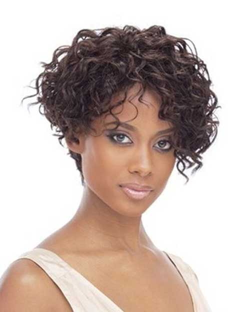 Miraculous 15 Beautiful Short Curly Weave Hairstyles 2014 Short Hairstyles Hairstyles For Women Draintrainus