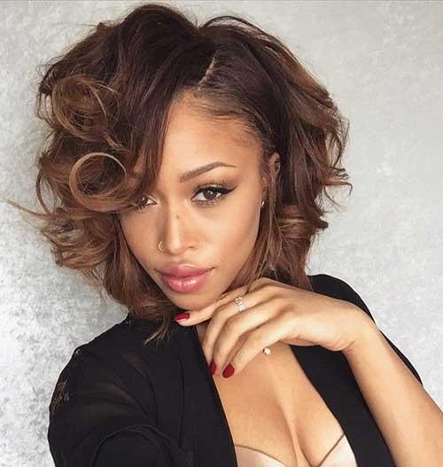 Marvelous 20 Cute Bob Hairstyles For Black Women Short Hairstyles 2016 Hairstyles For Women Draintrainus