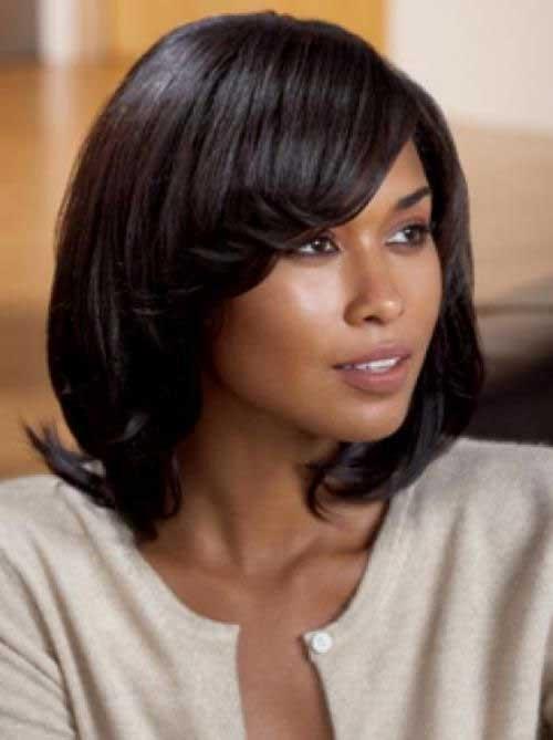 Cute Dark Bobs For Black Women