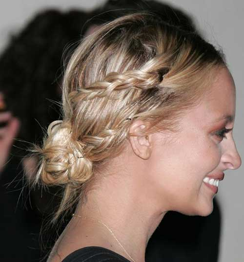 Cute Braided Bun Hairstyles For Short Hair : Cute bun hairstyles for short hair