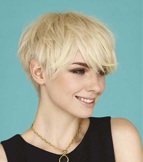 Cute Short Layered Pixie