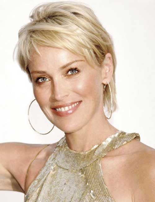 Cute Layered Short Thin Blonde Hairstyles