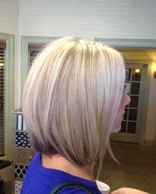 Cute Light Blonde Short Medium Haircuts