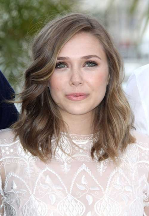 Cute Light Brown Short Medium Haircuts