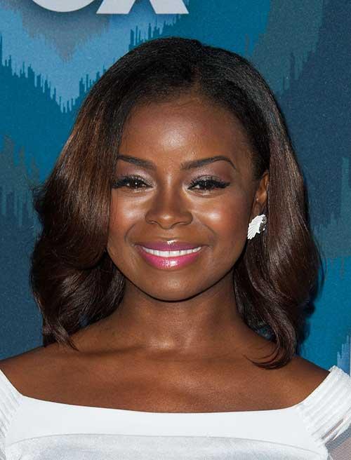 Cute Round Face Black Women Short Hair Ideas