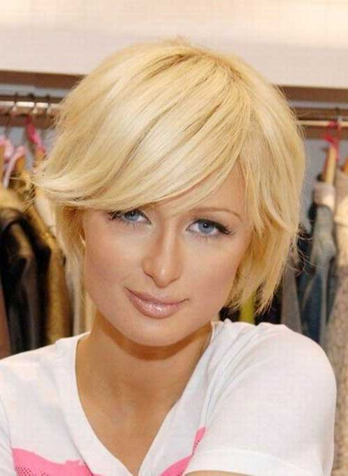Wondrous 10 Cute Short Hairstyles For Round Faces Short Hairstyles 2016 Short Hairstyles Gunalazisus